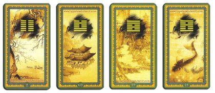 82dbd1d3b094ac Par exemple, le tarot chinois est empreint du célèbre symbole Yin et Yang.  Ce symbole représente la complémentarité présente dans le ...